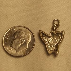 Vintage Jewelry - Vintage 70's Butterfly Charm